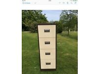 Tall Silverline Royale Filing Cabinet
