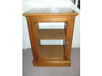 Cabinet (Glass door, solid and well made)