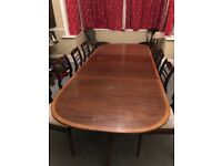 Quality Dining Table and 8 chairs