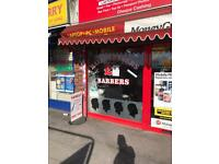 Barber Shop unit to Let £650pm