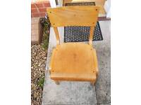 Children's school vintage stacking chairs