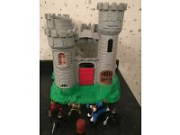 Fisherprice castle and figures