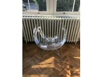 Ero/s Kartell chairs designed by Phillip Starck