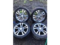 17 inch Genuine Mercedes Alloy Wheels. 17""