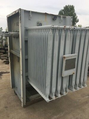 Ge 1500 Kva Substation Transformer 13800-480y277