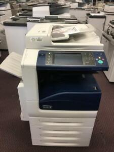 Xerox Work Centre WC 7535 Color MFP Printer Copier Scanner Fax 11x17 Photocopier