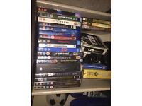 Assorted Dvd and Blu Ray Films