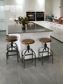 Re-Engineered Dentist Stools Adjustable Seat x 4