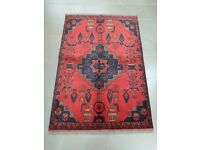 Authentic Afghan Rug - Hand Made with 100% Wool - 149 x 100cm