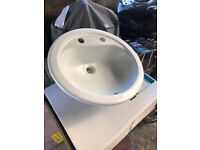 Fine china porcelain basin sink - BRAND NEW IN BOX