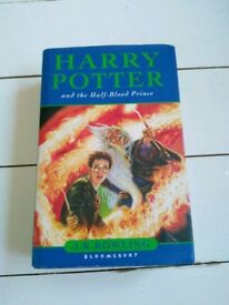 2x 1st Edition Harry Potter books
