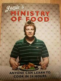 5 x Jamie Oliver cook books