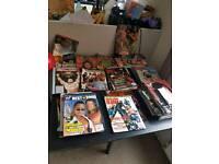 WWF Magazines joblot