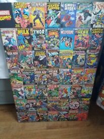 Comic characters Wall Canvas