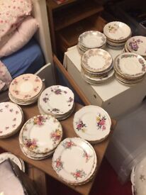 Wedding vintage China and accessories