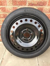 "Vauxhall 19"" space saver/spare wheel. Brand new"