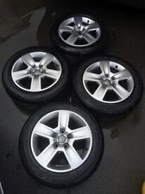 """Audi A4 16"""" alloys"""