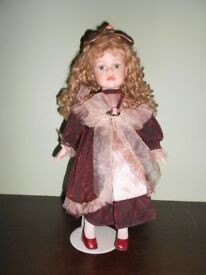Leonardo collection porcelain Doll very collectable.