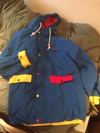 Lazy Oaf blue light jacket