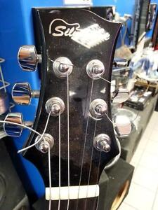 Silvertone Paul Stanley Dark Star Guitar. We Sell Used Musical Instruments. (#44669)