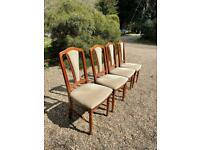 TOP QUALITY SET OF FOUR DINING CHAIRS