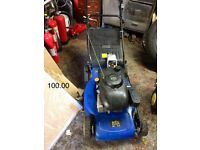 Petrol lawnmower used couple of times