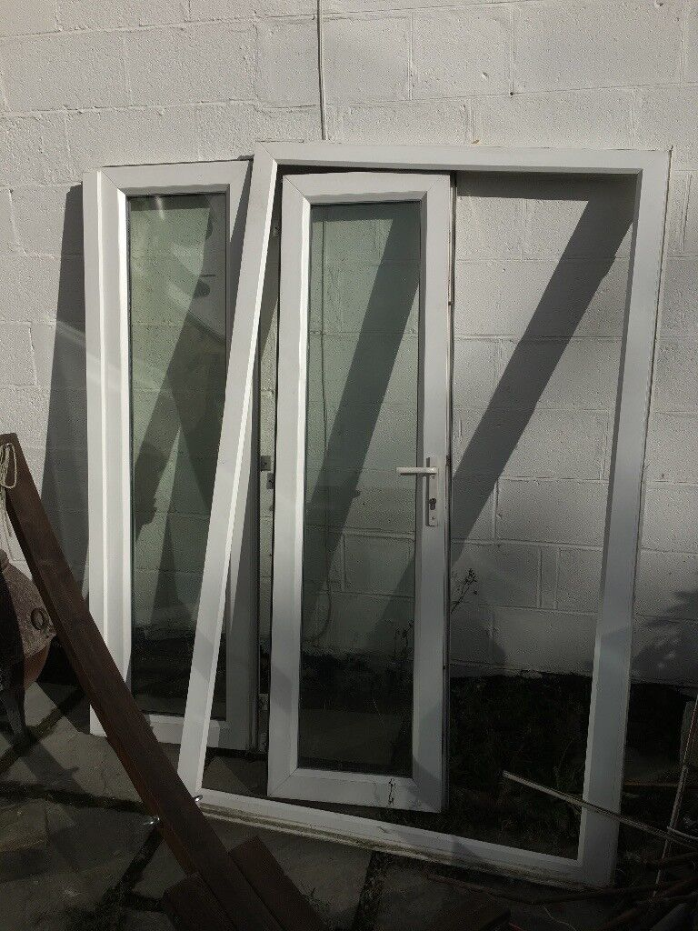 French style patio doors.. White Upcv double glazed