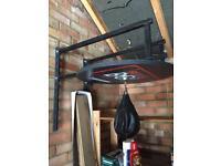 Boxing punch ball wall mount.