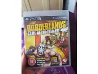 Borderless ps3 game