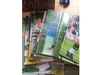 Celtic Matchday Programmes Over 50