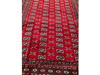 Large Handmade Bokhara Rug