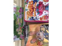 NEW Zootropolis Tin, Trolls Tins & My Little Pony Fuzzy Felt.