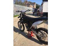 Ktm 250 sxf 2011 motocross bike