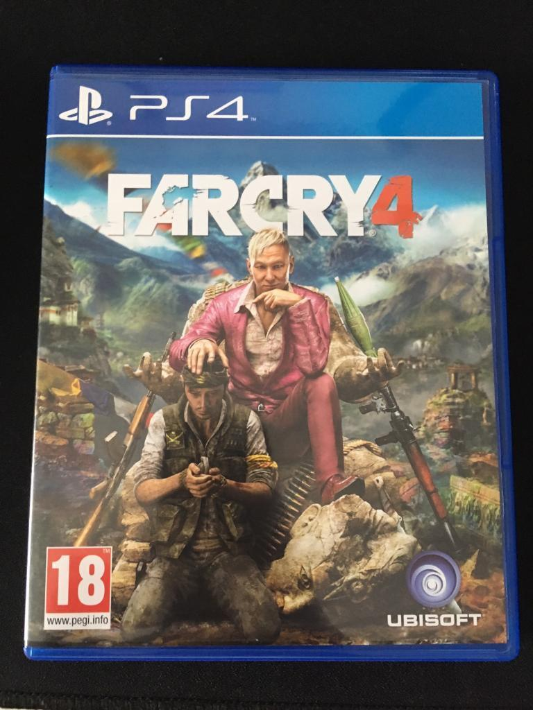 Far Cry 4 Ps4 Game In Newport Gumtree Farcry4 Pc