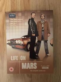 Life on mars dvd