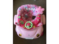 Bargain!!! Mothercare my first car walker + V-tech walker and jumbo seat...