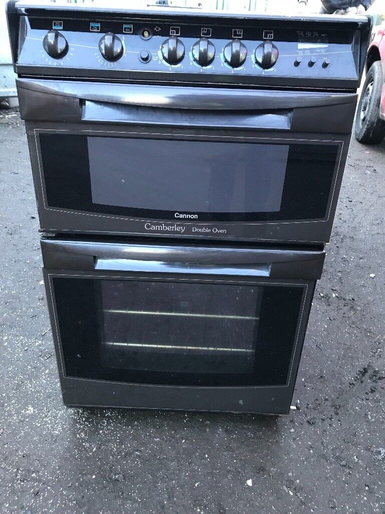 Cannon gas cooker 60cm double gas ovens free