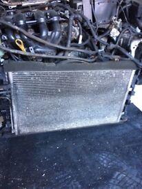 Ford Focus radiator pack 2007 petrol