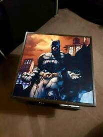 Batman and Joker coffee table