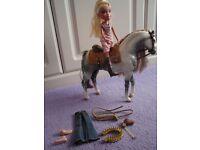 Bratz Horse and Cloe Doll