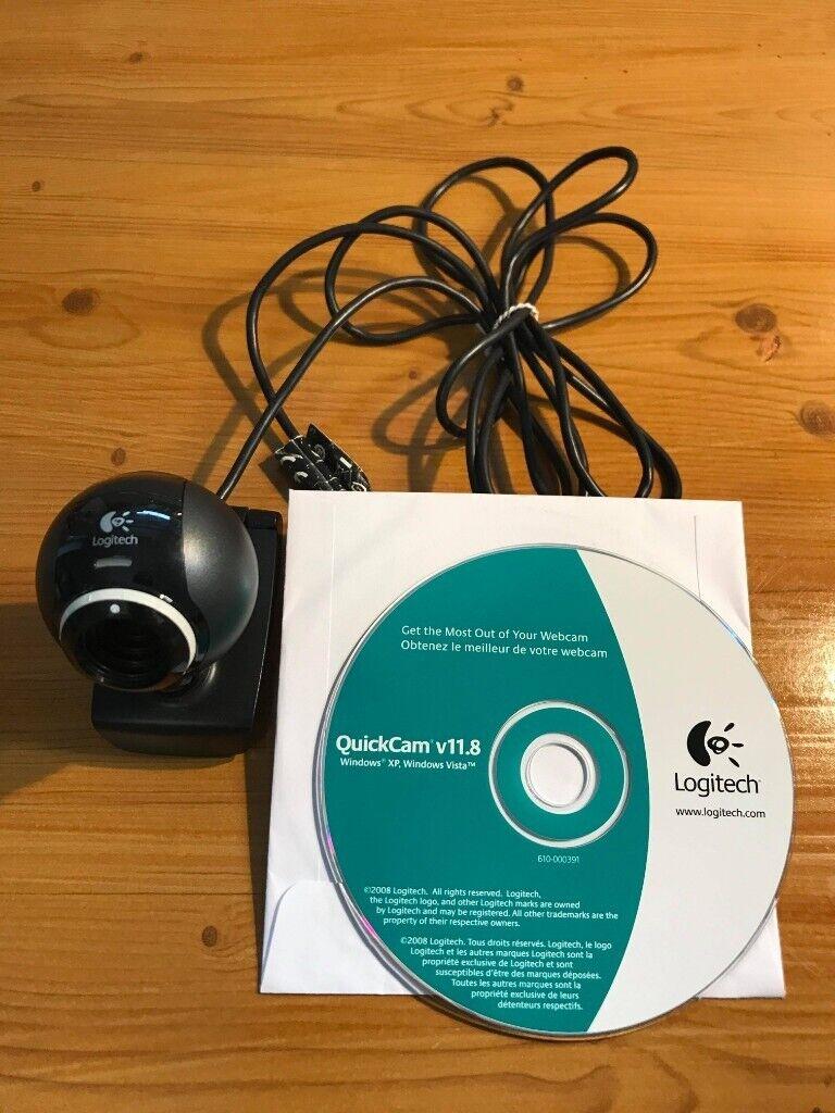Logitech QuickCam v11 8 with microphone plus Software Disc w/2 0 USB  Connection | in Lenton, Nottinghamshire | Gumtree