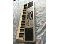 61 key electronic keyboard - burswood with adapter