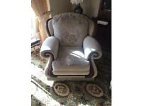 One seater rocking chair