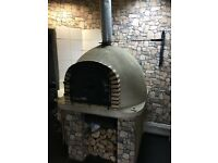 Wood burner pizza oven for sale shop clearance