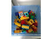 Lego Duplo box of bricks- like new