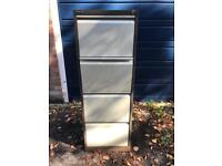 4 Draw Metal Filing Cabinet - Free Delivery