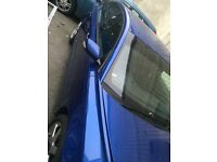 Volvo S40 Pair of wing Mirrors- royal blue