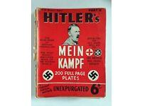 1939c HUTCHINSON & CO MEIN KAMPF 1-18 RARE EDITION'S