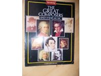 THE GREAT COMPOSERS AND THEIR MUSIC - CD's & MAGAZINES