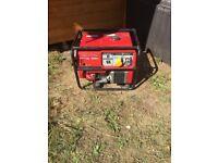 Honda petrol generator for spares or repair